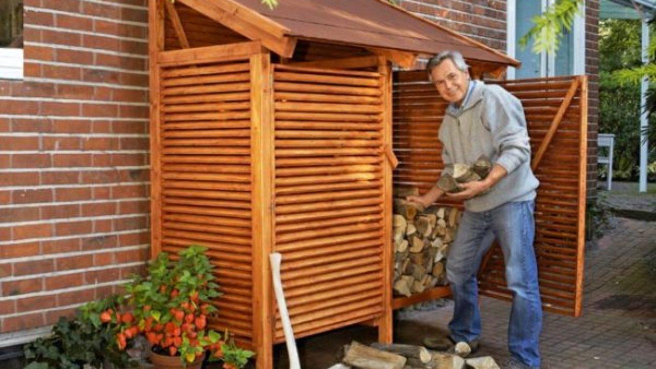 Copertura Giardino Fai Da Te legnaia fai da te: come costruire una legnaia in cinque