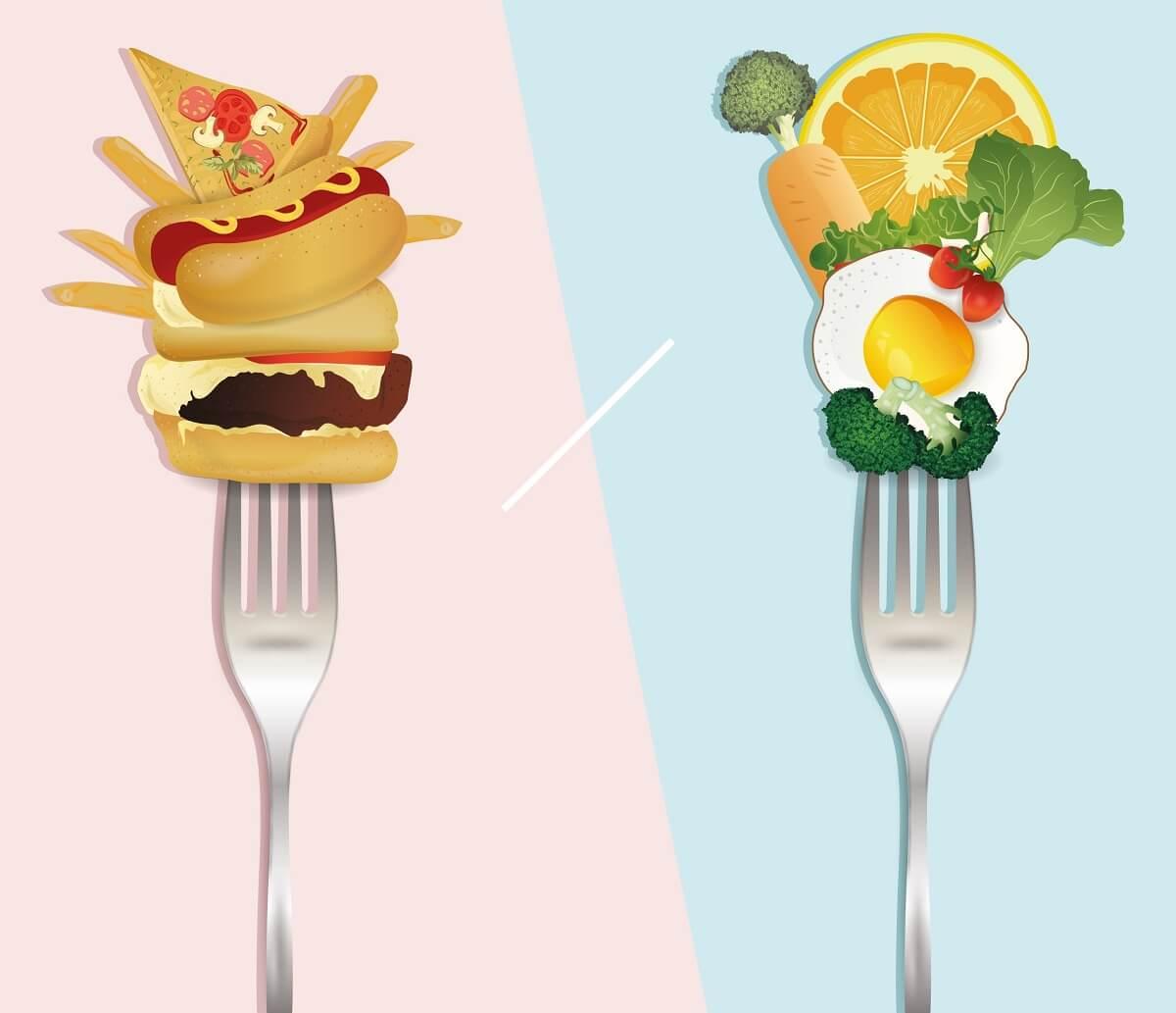 qual è la differenza tra dieta e nutrizione