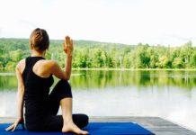 yoga nella natura