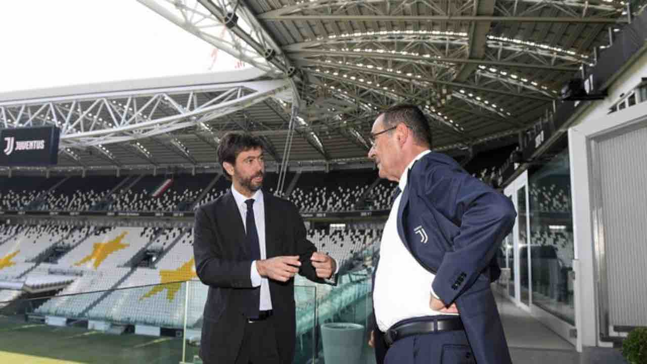 Juventus Agnelli Sarri Allegri
