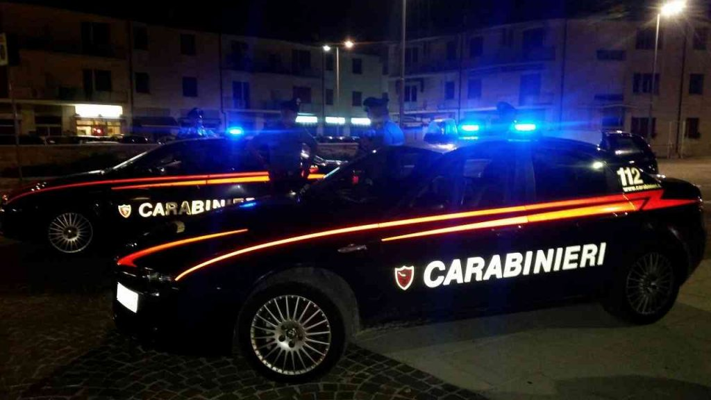 ragazzi morti Carabinieri