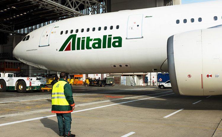 Coronavirus aereo Alitalia