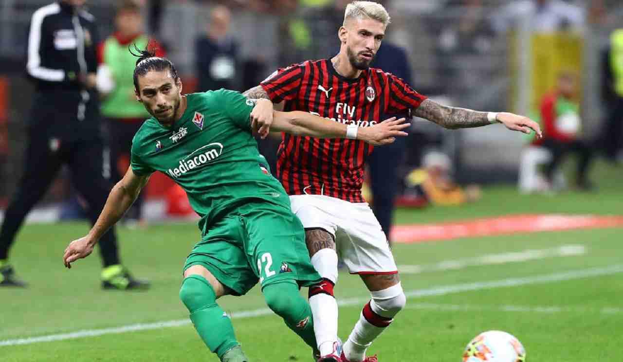 Fiorentina-Milan streaming