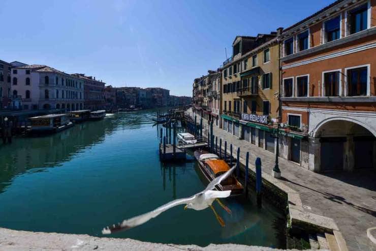 Covid-19 Italia natura calo inquinamento