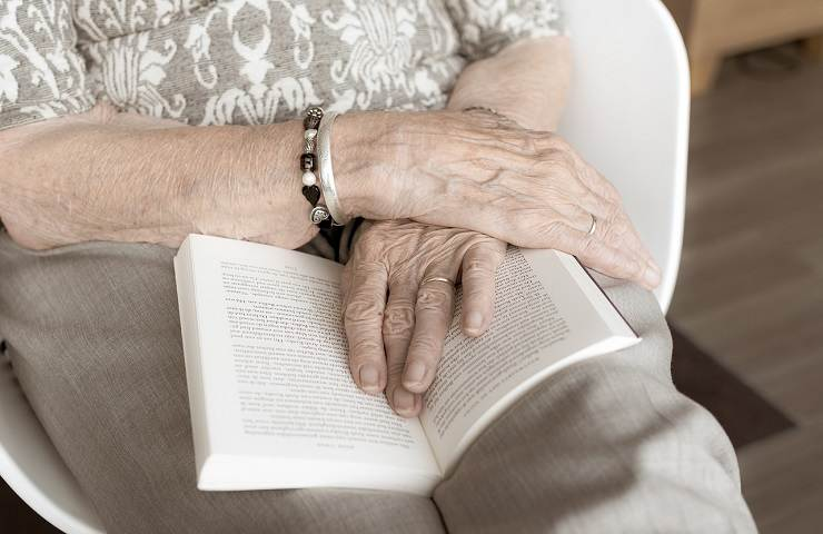 Anziana soccorsa