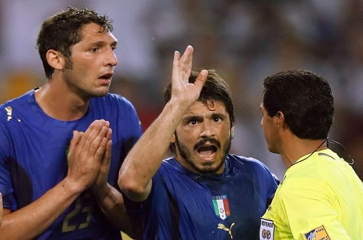 Materazzi e Gattuso