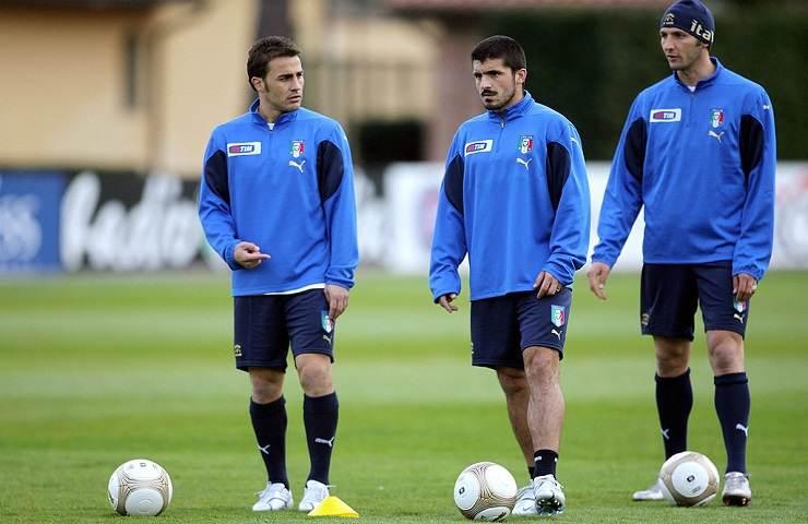 Cannavaro Gattuso e Materazzi