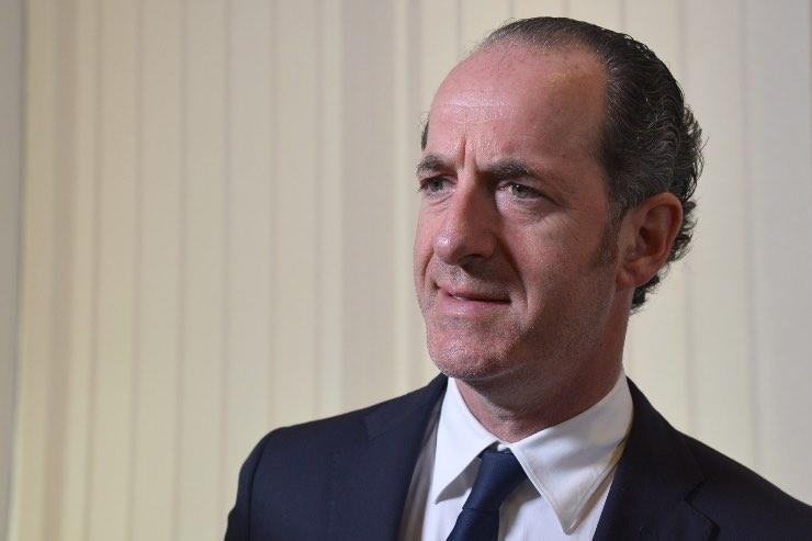 Virus Zaia presidente Veneto possibile allentare regole subito