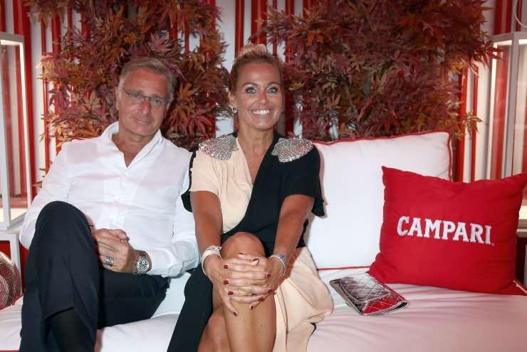 Paolo Bonolis casa foto moglie Sonia Bruganelli Roma