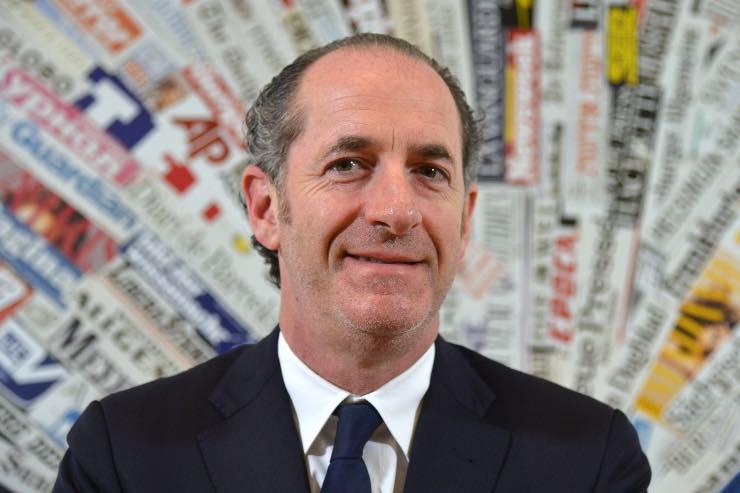 Covid-19 Zaia presidente Veneto lockdown