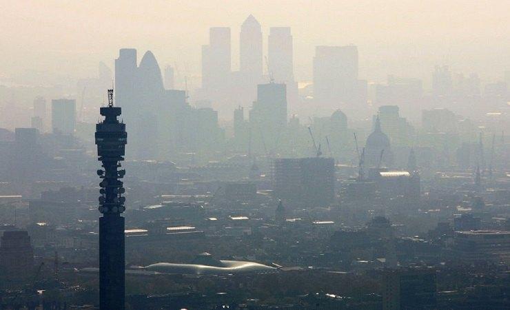Città inquinamento coronavirus