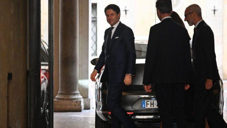 Membro della scorta Conte (Getty Images)