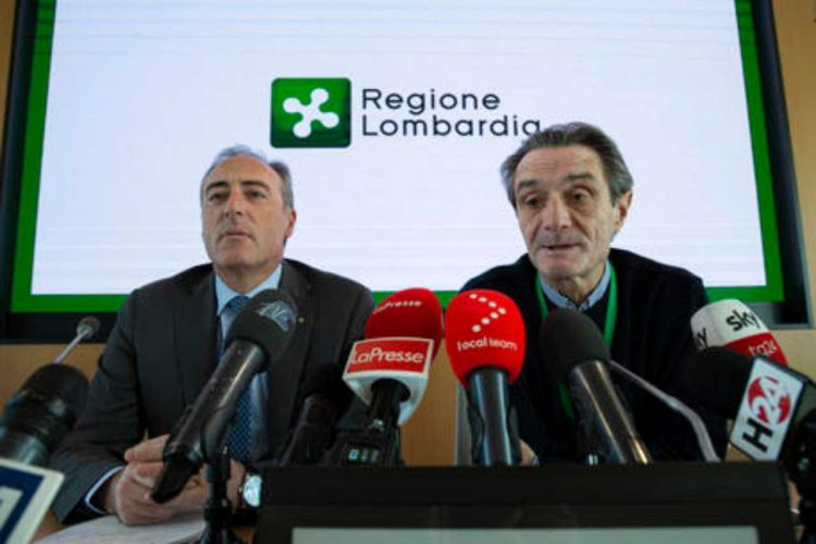 Coronavirus Lombardia proposte chiusura