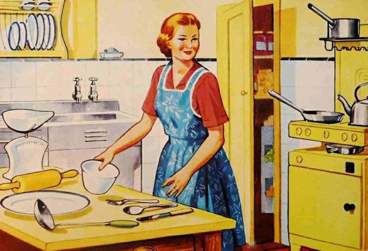 Con il virus le donne sono tornate agli anni '50