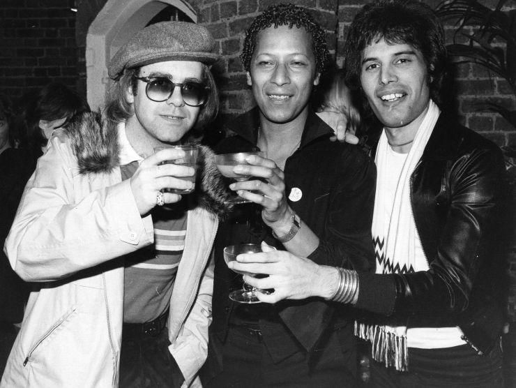 Freddie Mercury e Elton John (GettyImages)