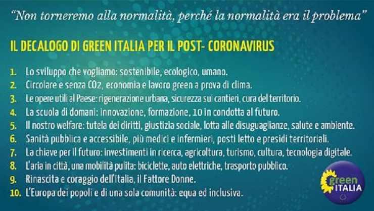 decalogo Green Italia