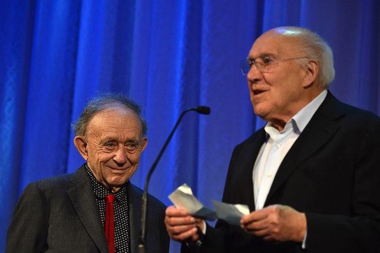 Michel Piccoli e Frederick Wiseman(GettyImages)