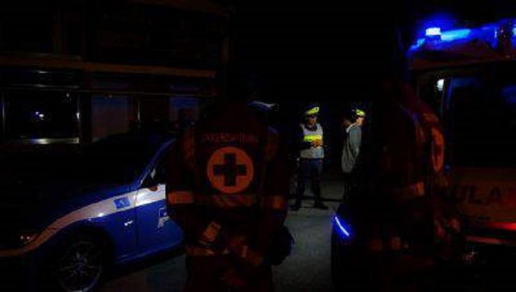 Polizia Stradale e Ambulanza