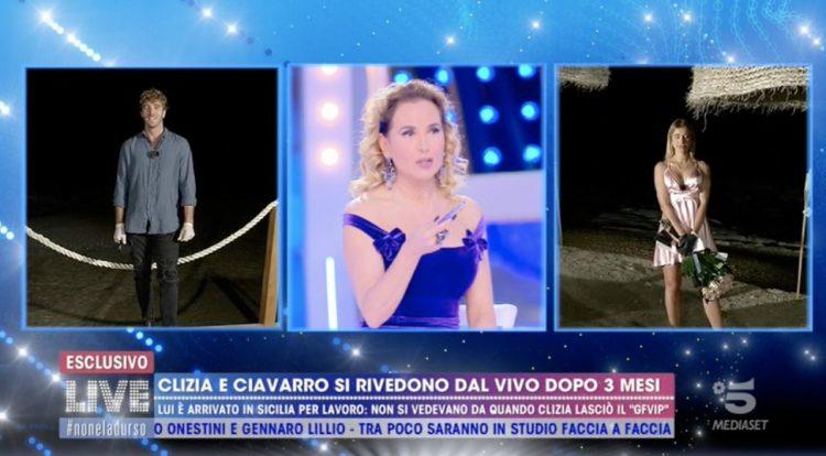 Barbara d'Urso a Paolo Ciavarro e Clizia Incorvaia: