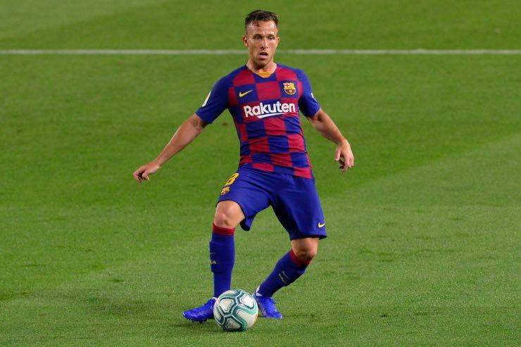 Ufficiale Arthur Juventus Pjanic Barcellona annuncio scambio