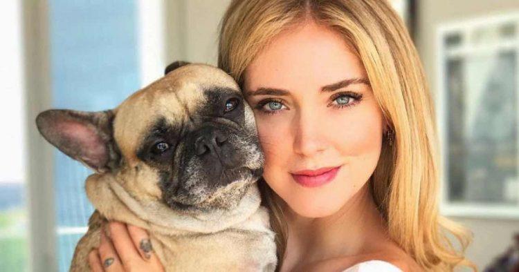 Chiara Ferragni cane tumore