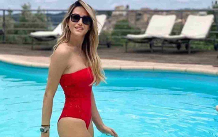 Giorgia Rossi outfit Diletta Leotta foto