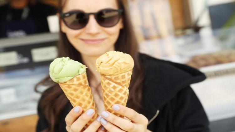 Estate, stagione di gelato.