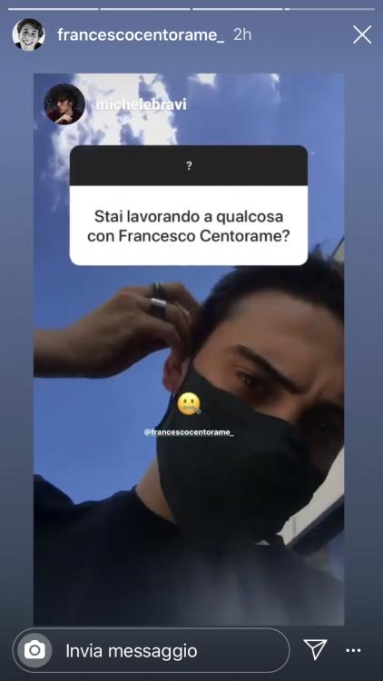 Michele Bravi Francesco Centorame collaborazione