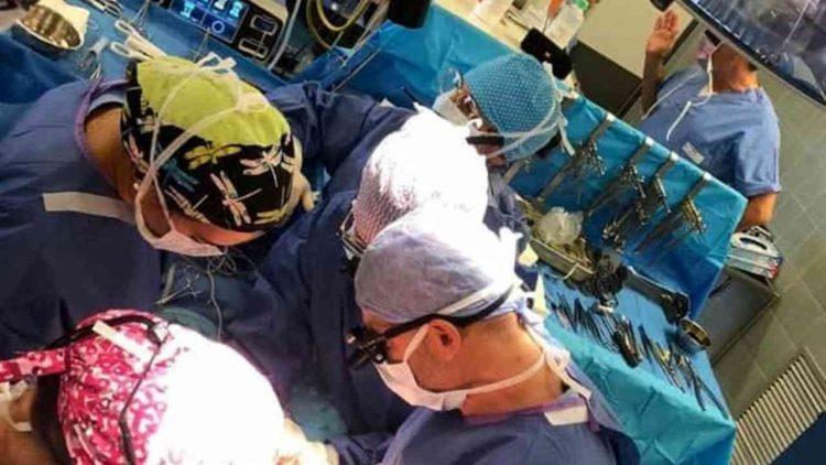 Foto sala operatoria