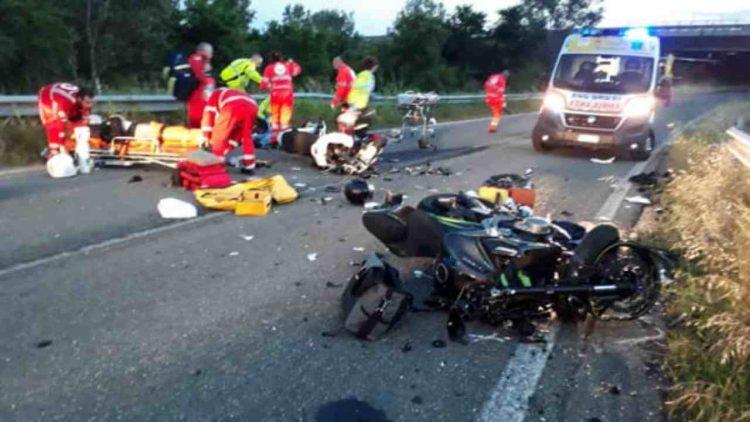 incidente Arezzo camionista 24 anni