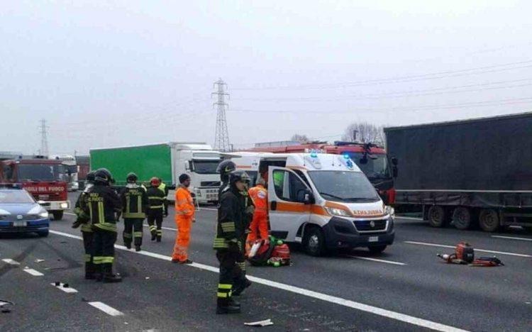 Incidente autostrada Arezzo 24 anni