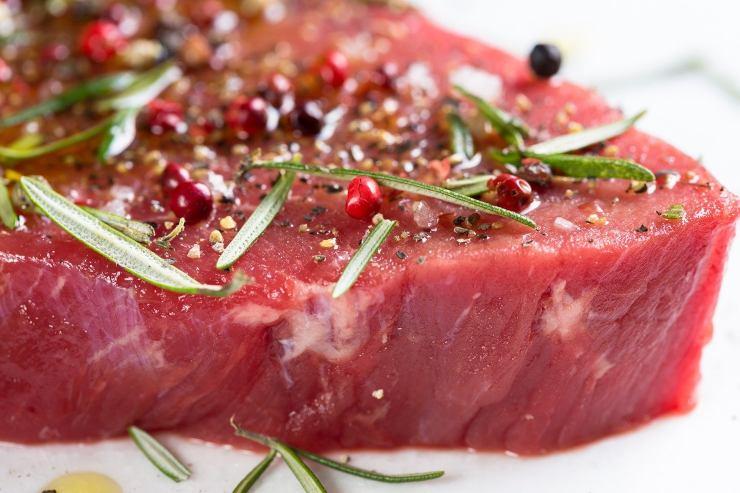 marinare la carne
