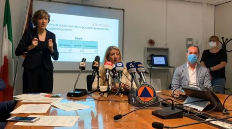 Zaia cconferenza stampa