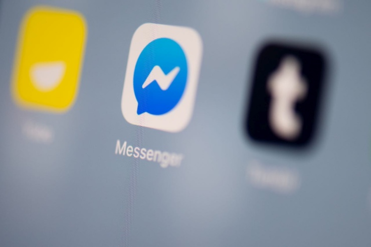 Facebook Messenger condividere schermo iPhone Android