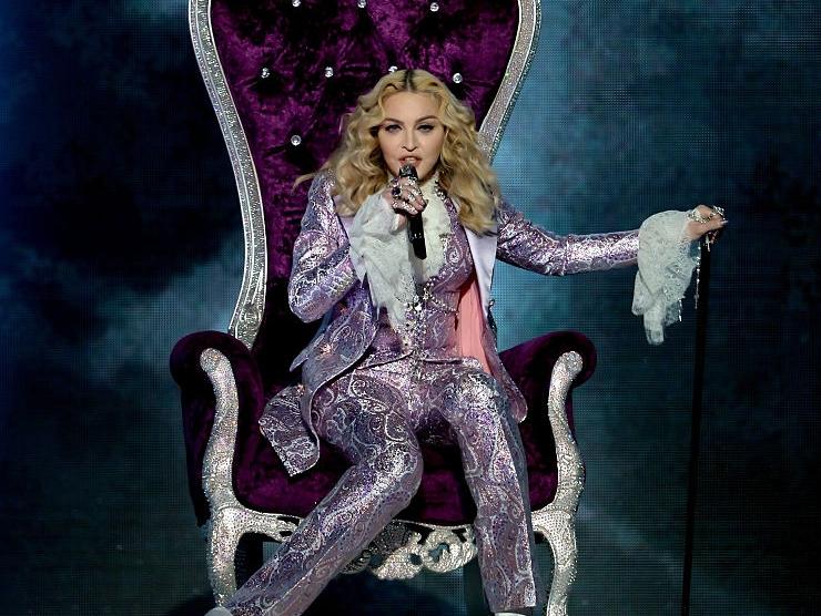 Madonna Sul Palco