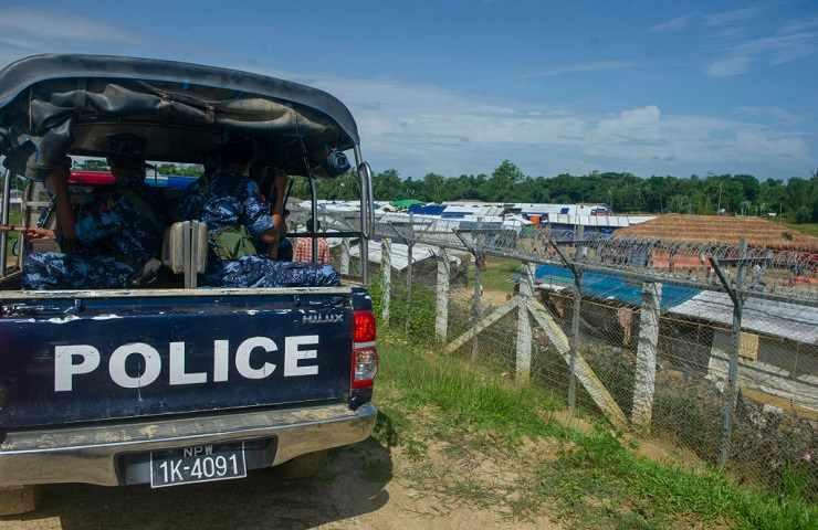 Polizia Myanmar