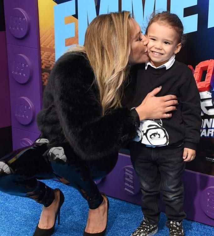Naya Rivera e suo figlio