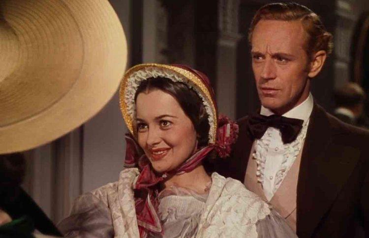 Via col vento Melania Hamilton Olivia de Havilland