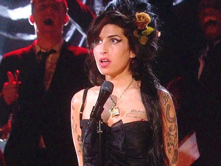 Amy Winehouse Grammy 2008