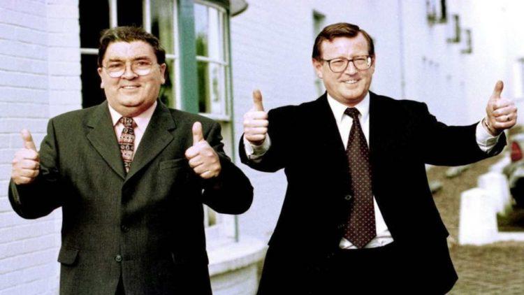 John Hume e David Trimble(foto dal web)