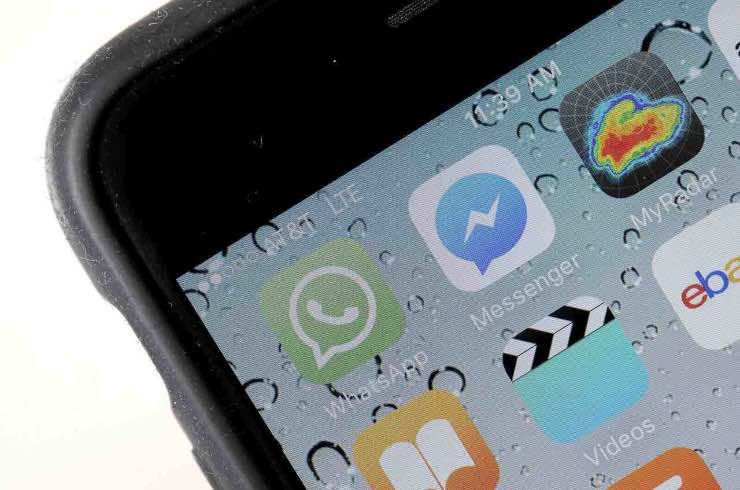 WhatsApp impronta Touch Face ID iPhone Android