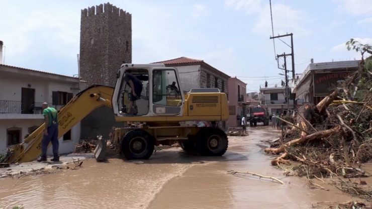Grecia, tempesta colpisce l'isola di Eubea: sette morti e dispersi
