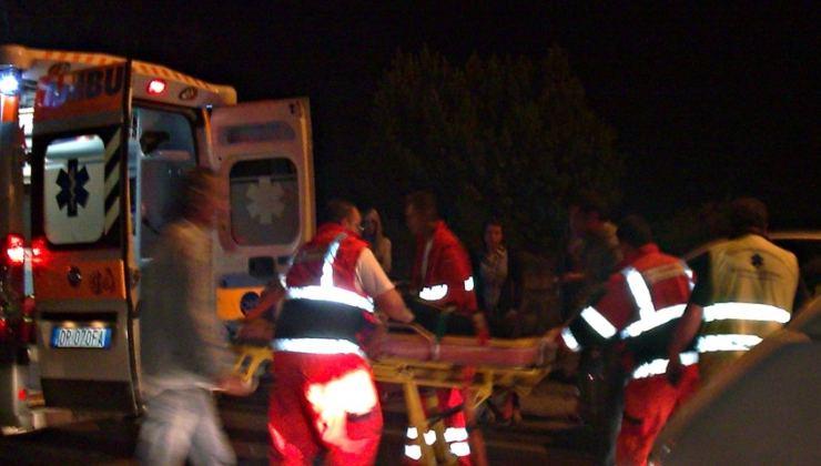 Ambulanza di notte(Getty Images)