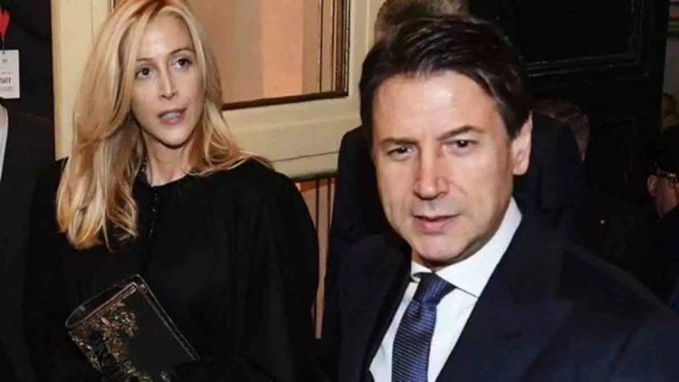 Giuseppe Conte e Olivia Paladino (foto dal web)