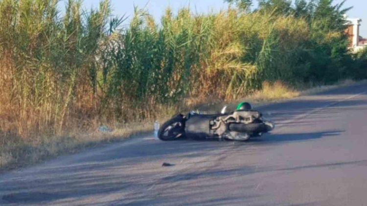 incidente stradale motorino