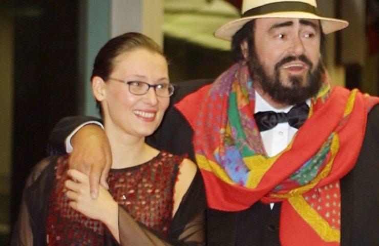 Nicoletta Mantovani e Pavarotti nuovo marito