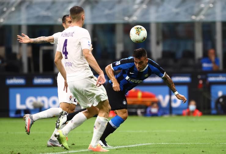 Inter Fiorentina Serie A anticipo