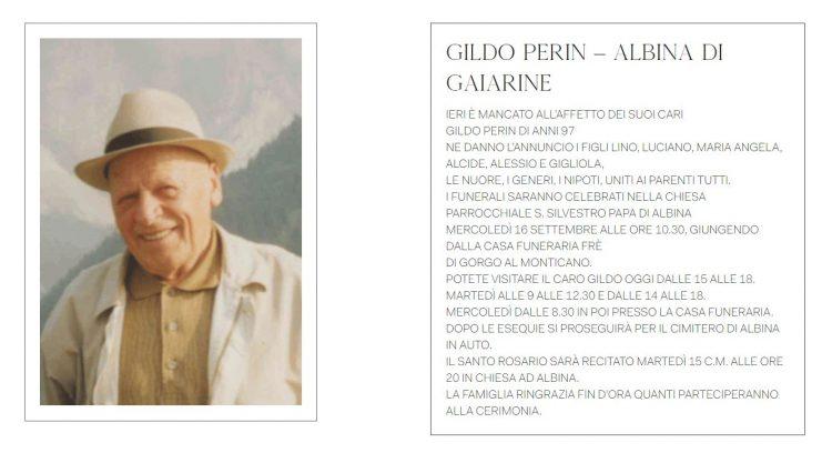 Necrologio Gildo Perin (foto dal web)