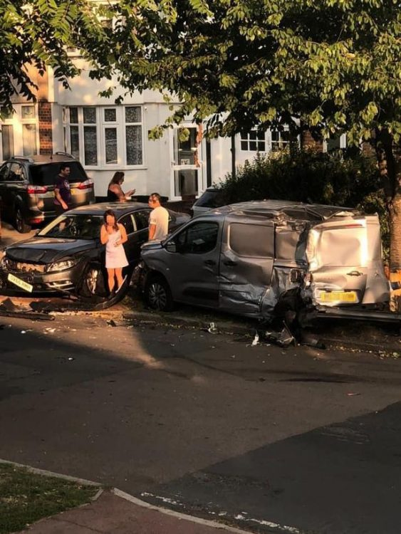 Incidente a Kidbrooke (foto dal web)