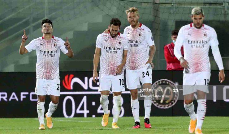 Inter Milan Serie A formazioni